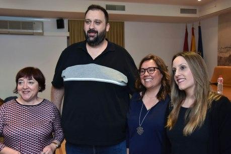 Carmen Morales, Rubén Caballero, Susana Seseña y Ana M. Manzano.