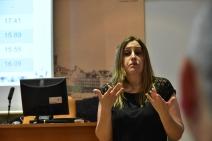 Ana María Manzano, intérprete de LSE