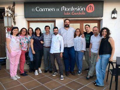 El equipo de Ciencia a la Carta con Iván Cerdeño en El Carmen de Montesión