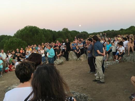 Algunos de los casi 500 asistentes a la presentación.