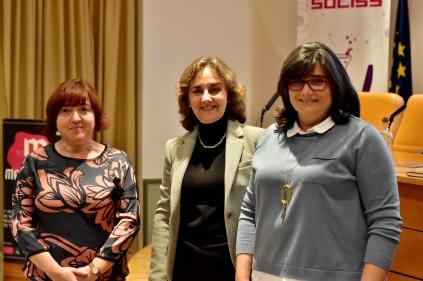 Carmen Morales, Adela Muñoz y María José Ruiz.